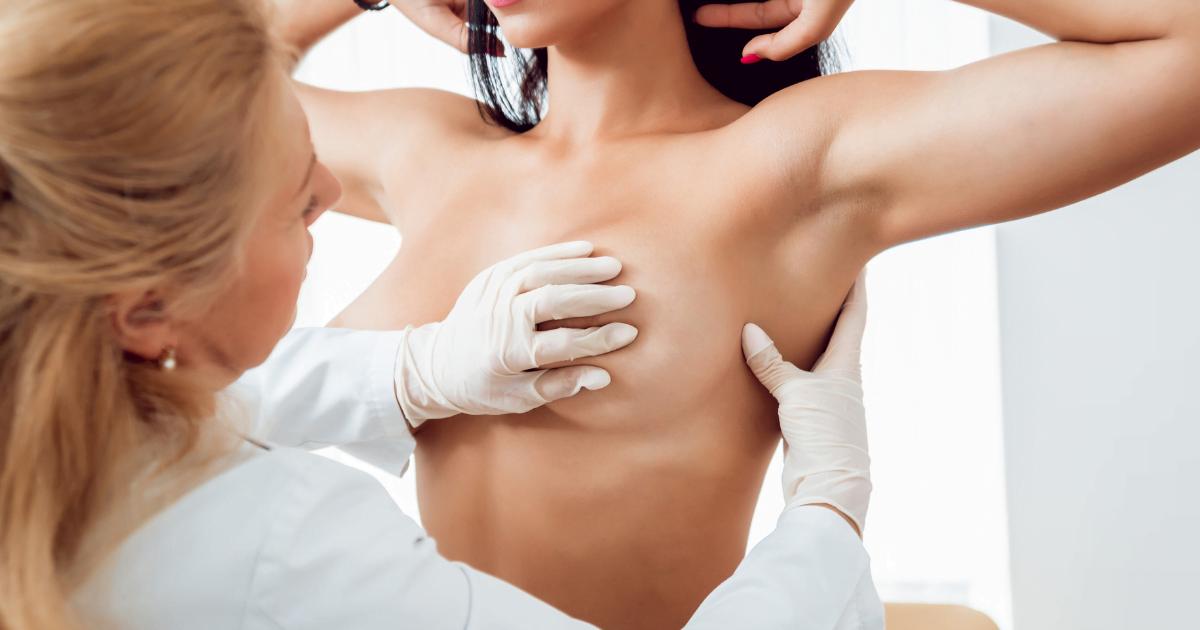 mastektomia - badanie piersi