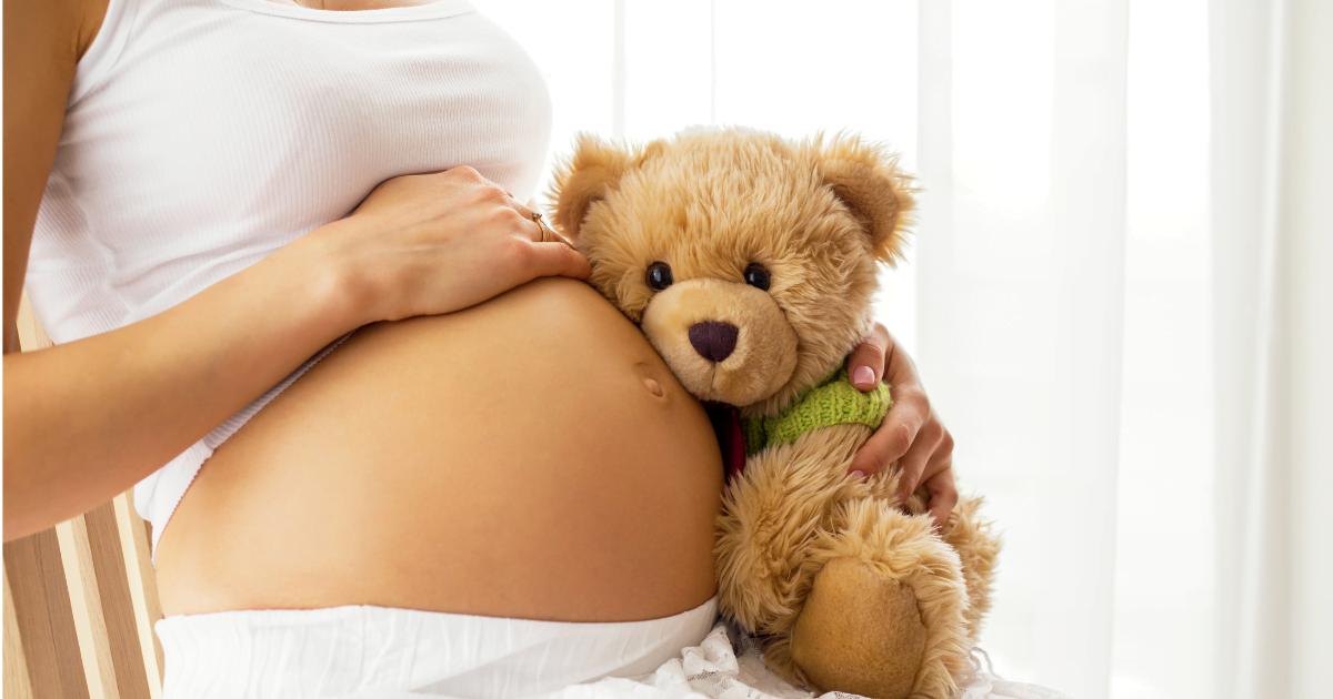 opryszczka w ciąży